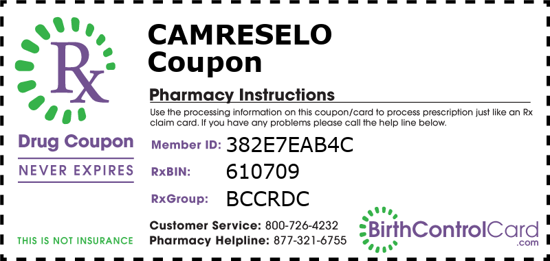 CamreseLo Prescription Coupon
