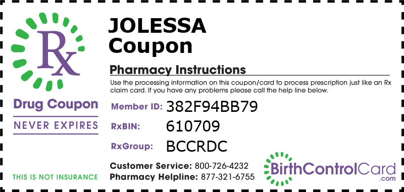 Jolessa Prescription Coupon
