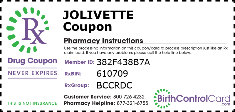 Jolivette Prescription Coupon