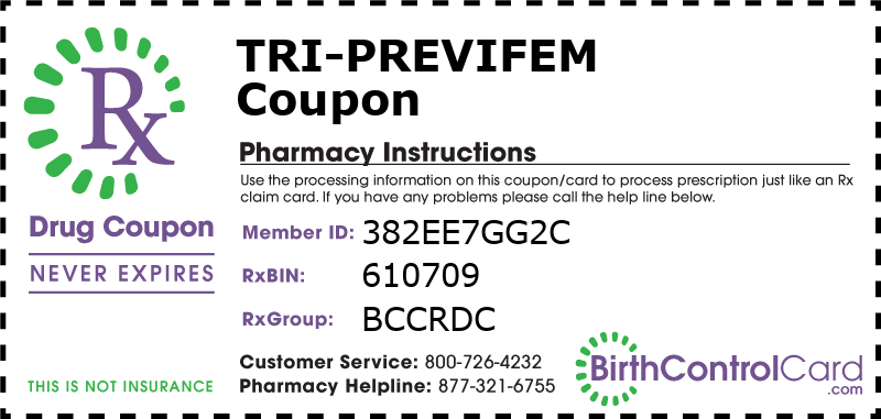Tri-Previfem Prescription Coupon